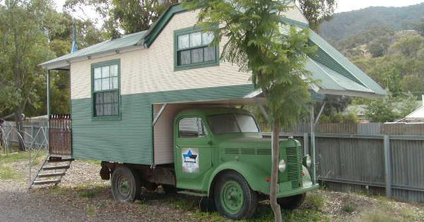 Camper body on a 1948 Bedford truck. | travel trailers ...