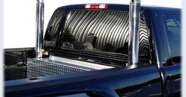 The Smeding Diesel 7 Inch Black Chrome Stainless Steel Exhaust