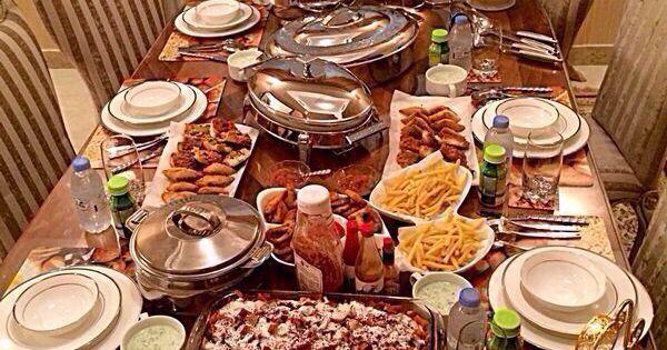 Ramadan Table Setting Everything Pinterest