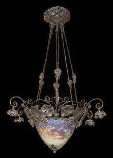 French Art Deco Muller Freres Luneville