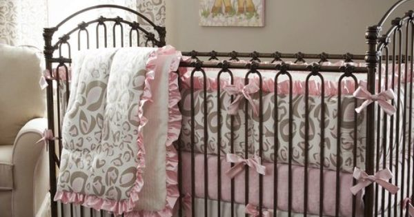 Animal Print in Pink and Taupe for Your Baby Girl by Carousel