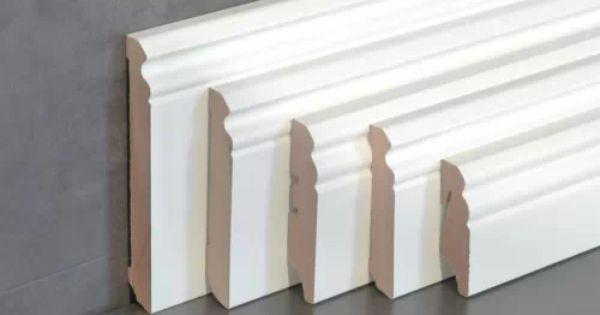 Cube Sockelleiste Fu Bodenleiste Altbauleiste Berliner Hamburger Profil Wei Moldings And Trim Wallpaper Living Room Floor Skirting