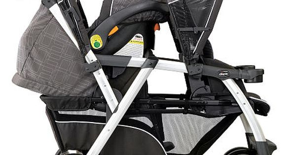 Chicco Cortina Together Double Stroller Cubes Babies R