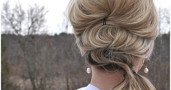 The Small Things Blog: Fancy Side Pony hair tutorial