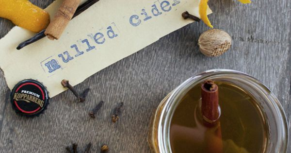 Spiced Mulled Cider Recipe Recipes To Try Pinterest