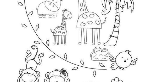 Immagini di animali da colorare animali della foresta for Disegni da colorare animali della foresta