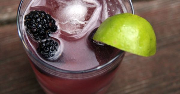 Blackberries, Gin and Syrup on Pinterest