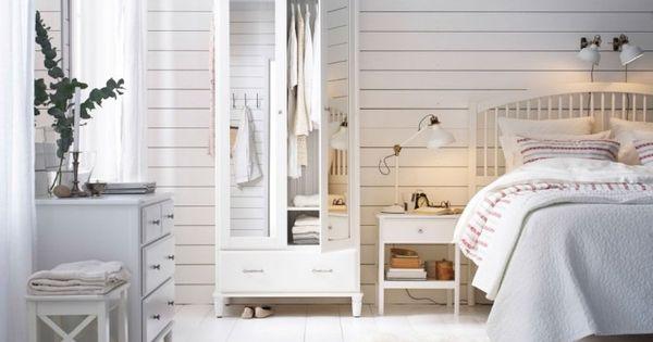 Chambre blanche en 65 super idées de meubles et décoration  Toile ...