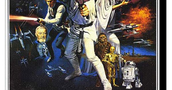 The original Star Wars movie poster