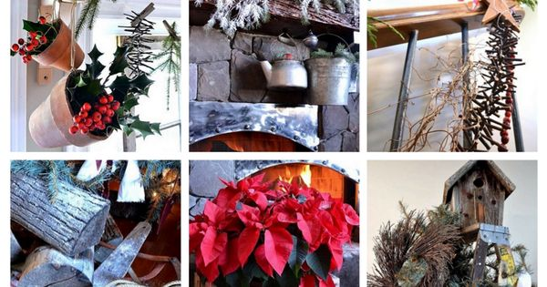 A full home tour of original CHRISTMAS JUNK projects, including a stepladder