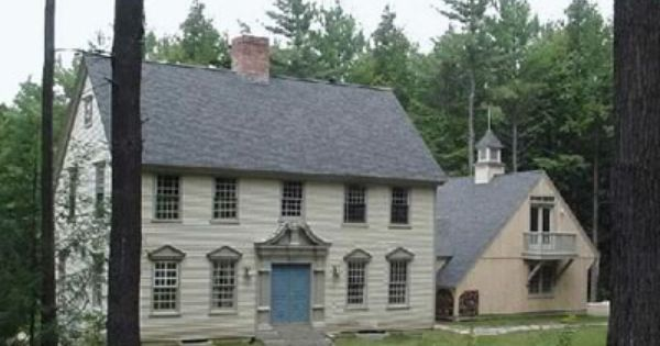 Old new england homes new england colonial house old for New england home builders