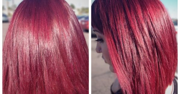 Orchid Hair Color