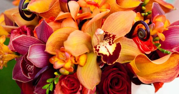 Orchid bouquet - Photo Credit: Cary Pennington Photography