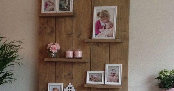 Zelfgemaakt wandbord van steigerhout in huis pinterest zelfgemaakt decoratie en huiskamer - Tijdschrift chic huis ...