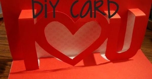 How To Make Homemade Cool Valentine Gifts Valentines Diy Handmade Gifts For Boyfriend Card Tutorial