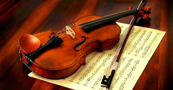 Violin And Piano Art Tone Wallpaper Hd 6467 Wallpaper