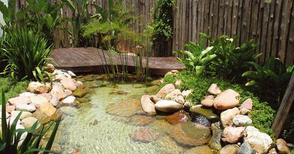 Jardins pequenos pesquisa google mi jardin pinterest for Cascadas para jardines pequenos