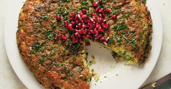 herbs frittata with leeks and herbs recipes dishmaps coleman leek ...