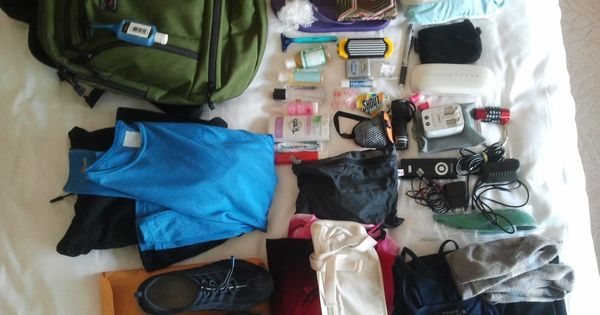 One woman's ultra light packing list -Another woman who agrees with me
