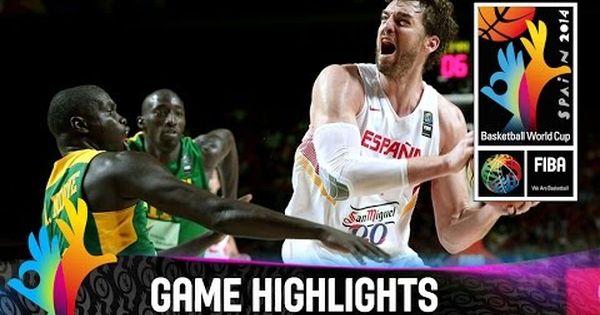 2014 Fiba Basketball World Cup Spain Defeated Senegal 89 56 To Set A Date With France Fiba Com Fiba Basketball World Cup Basketball