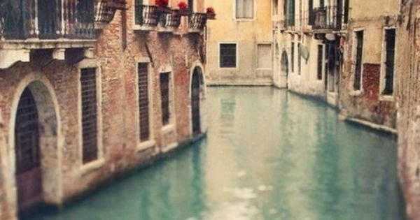 Venice, Italy. Too beautiful a city and way of life to not