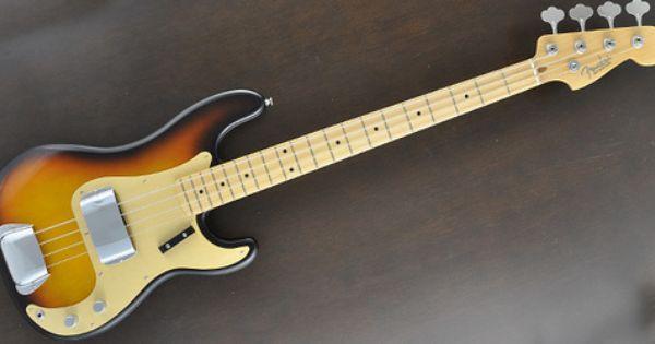 Fender American Vintage 58 Precision Bass 3 Color Sunburst Free Shipping D Fender American Vintage Sunburst American Vintage