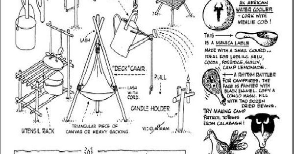 camp gadgets for scouts pdf