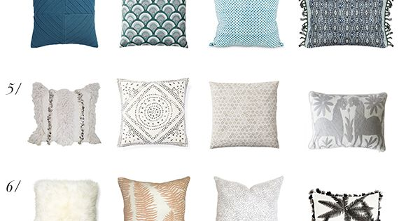 A Simple Way To Mix And Match Throw Pillows Throw