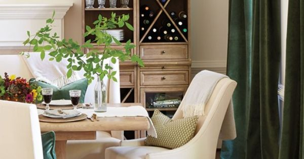 Centsational girl blog archive olive green for Olive green dining room ideas