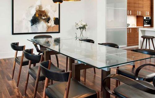 omg can this be my dining room? love the Tom Dixon pendant