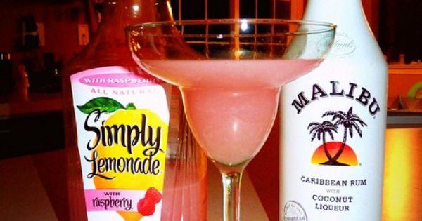 Malibu rum, Rum and Lemonade on Pinterest