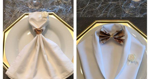 pliage serviette nouvel an d co pinterest pliage de serviettes mariage et mari es. Black Bedroom Furniture Sets. Home Design Ideas