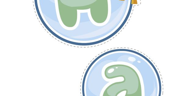 Bubble guppies happy birthday decorations printable bubble guppie birthday love pinterest - Bubble guppies birthday banner template ...