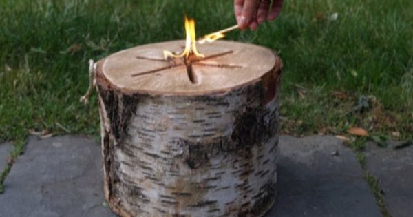 Light 'n Go Bonfire Log is the easiest bonfire you will ever