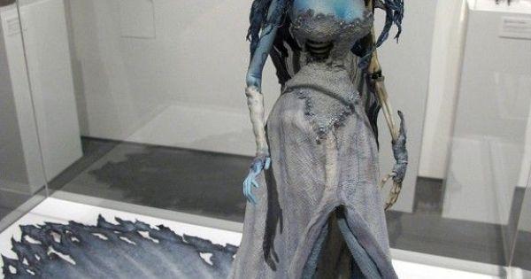 Corpse Bride Wedding Gown: Mood Board: Haunted