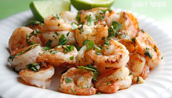 My favorite Cilantro Lime Shrimp recipe!