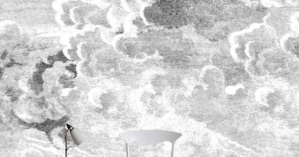 Opcion Comedor Papel Pintado Nuvole Wallpaper Cole Son
