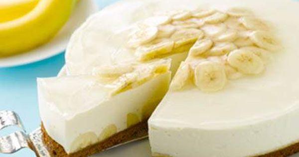 Kuchen Desserts Philadelphia Torte Banane Das Haus Kuchen Desserts Desserts Ohne Backen Kuchen Und Torten