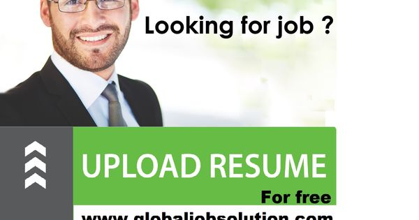 If any one searching for job then go to our website and upload - how to upload a resume