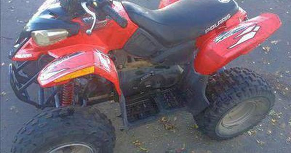 Polaris Predator 90 Runs Awesome Has Electric Start Headlights Reverse Would Be A Great Christmas Present Kids Atv Great Christmas Presents Riding Lawnmower