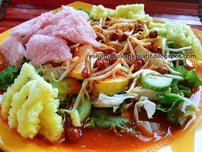 Resep Asinan Sayur Betawi Bumbu Kacang Resep Masakan Resep Masakan Indonesia Masakan
