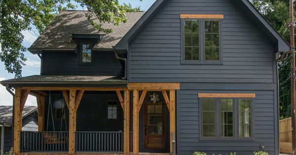 Yuk This Is What I Don T Want Dark Windows Siding To Look Like House Exterior House Paint Exterior Exterior House Colors