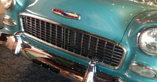 The Hot One Enshrined This 1955 Chevrolet Bel Air 4 Door Sedan Is