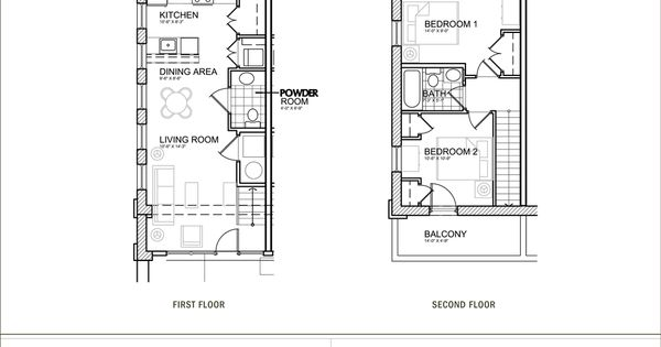 Small apartment plan dimensions google search small for Apartment townhouse plans