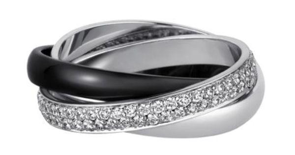 Cartier Ring On Finger