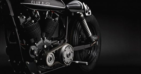 Harley Davidson Sportster Club Black 02