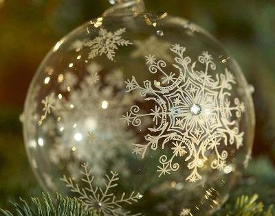 snowflake ornament site has beautiful pics of Christmas trees