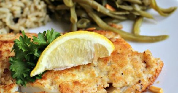 Parmesan Crusted Cod | Whole