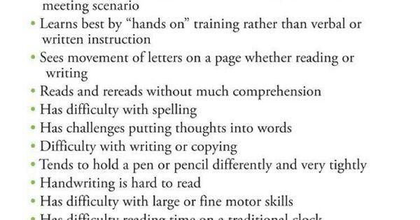 Symptoms of dyslexia Wenn du mehr über Legasthenie erfahren möchtest, schau dir LRS-Club.de an!