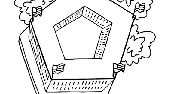 pentagon coloring page geography famous landmarks pinterest geography reading street and. Black Bedroom Furniture Sets. Home Design Ideas